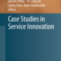 Case Studies in Service Innovation - new book