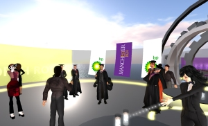 Virtual World Graduation Service